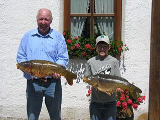 Anton Stroh und Josef Geltermeier 2006
