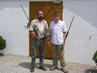 Horst Franke jun. und Kevin Andre 2007