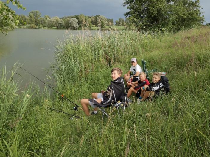Jugendfischen Allershausener See3