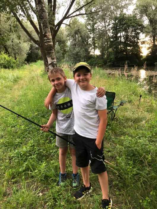Jugendfischen Allershausener See4